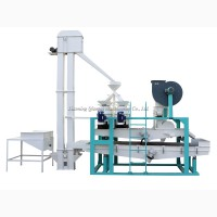 Оборудование для шелушения и сепарации семян сафлора