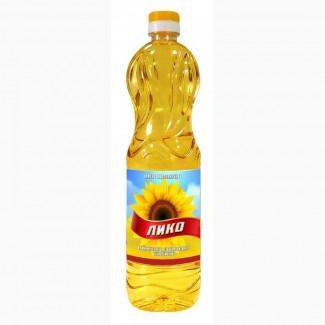 Масло подсолнечное ЛИКО 1л