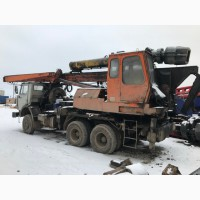 Установка сваебойная УГМК-12 на базе КамАЗ-53228, 6х6.б/у