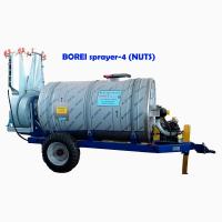 Опрыскиватель прицепной BOREI sprayer-4, для защиты ореховых насаждений