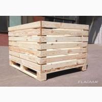 Контейнеры для яблок ящик тара деревянный