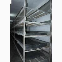 Продается оборудования для производства грибов на 8 камер по 280 кв.м